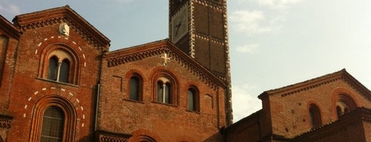 Basilica di Sant'Eustorgio is one of Lombardia #blogville #inLombardia.