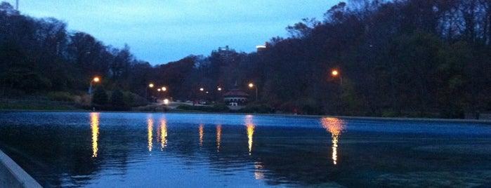 Mirror Lake is one of Cincinnati Must-Do.
