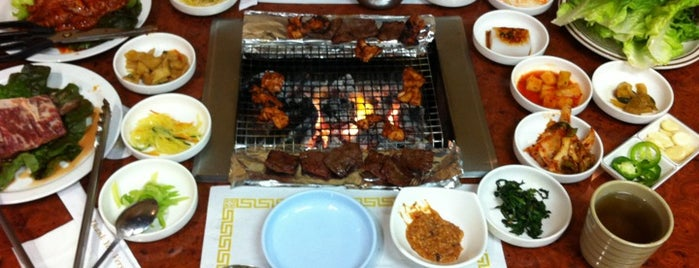 Han Sung Korean BBQ is one of Dan: сохраненные места.