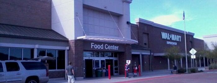 Walmart Supercenter is one of สถานที่ที่ Sloan ถูกใจ.