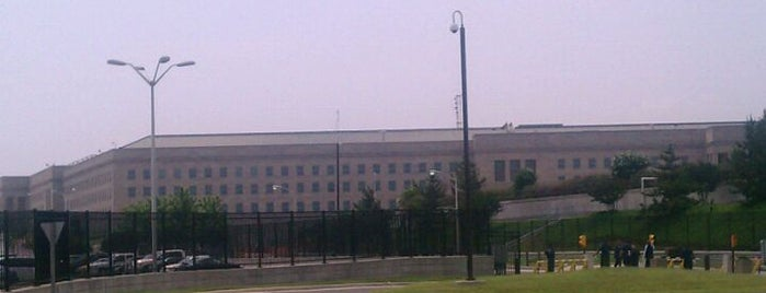 The Pentagon is one of Places that are checked off my Bucket List!.