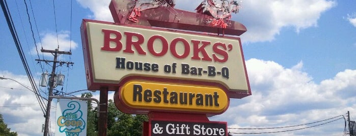 Brooks House of Bar-B-Q's is one of Restaurants.