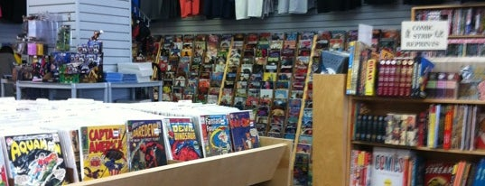 Bedrock City Comic Co. is one of Houston.