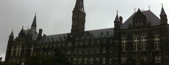 Georgetown University is one of Guide to Washington's best spots.