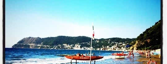Spiaggia di Alassio is one of √ Best Free-Beaches in Liguria.