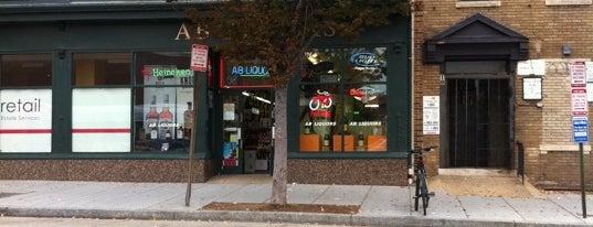 AB Liquors is one of Lugares guardados de Sarah.