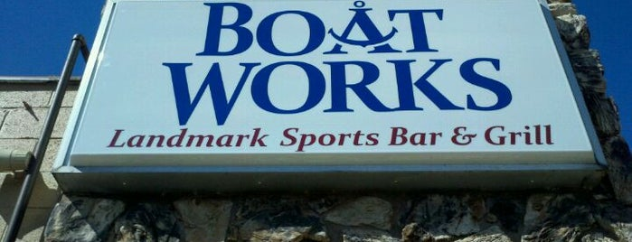 Boat Works is one of restaurants and bars around the world.