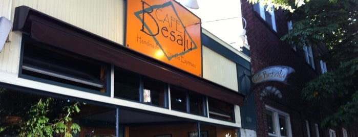 Cafe Besalu is one of Rata's Seattle Coffee Trip - A Coffee Crawl!.