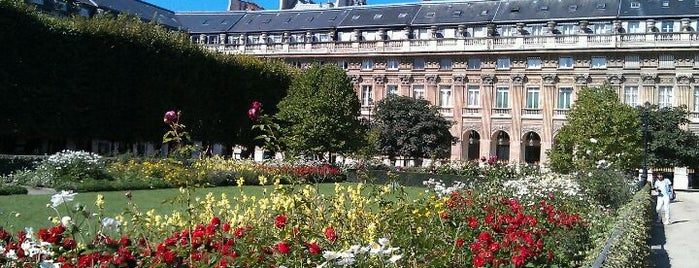 Jardin du Palais Royal is one of Paris : best spots.