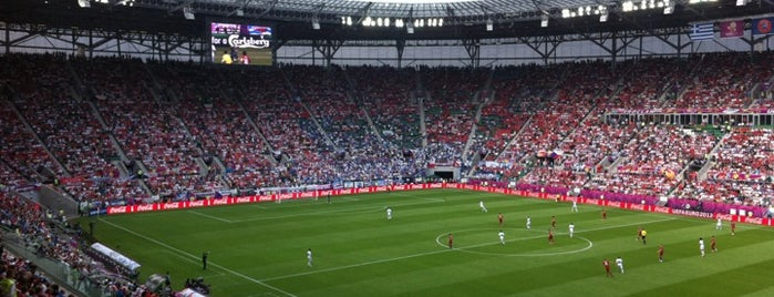Stadion Wrocław is one of EURO 2012 FRIENDLY PLACES.