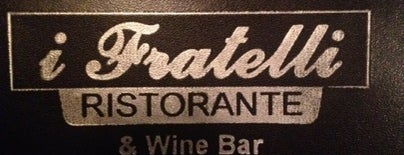 I Fratelli Ristorante & Wine Bar is one of My Neighborhood.