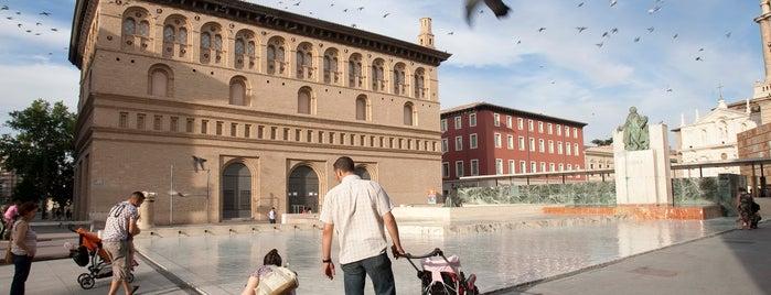 Palacio de la Lonja is one of Zaragoza, cuna del arte renacentista.