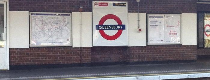 Queensbury London Underground Station is one of Underground Stations in London.