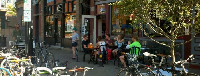 OTB Bicycle Cafe is one of Pittsburgh Eats.