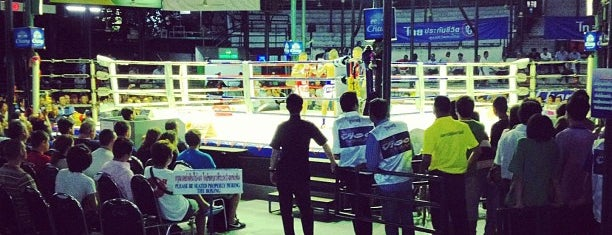Lumphini Muay Thai Stadium is one of Thailand.