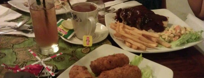 bloemen Holland Bistro & Rijsttafel is one of Bandung Food Foursquare Directory.