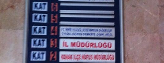 Konak İlçe Nüfus Müdürlüğü is one of Posti salvati di Şadi.