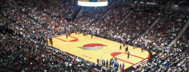 Moda Center is one of NBA Arena Guide.