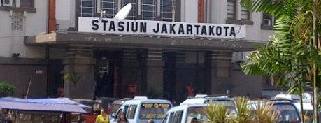 Stasiun Jayakarta is one of Jakarta. Indonesia.
