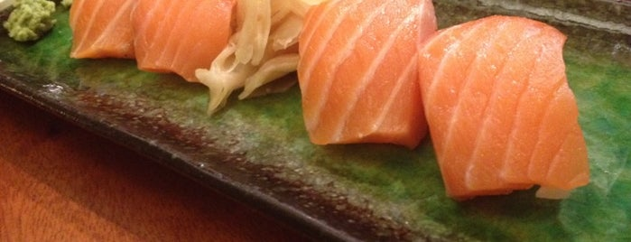 Koto Sushi is one of to try.