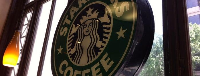 Starbucks is one of Dave : понравившиеся места.