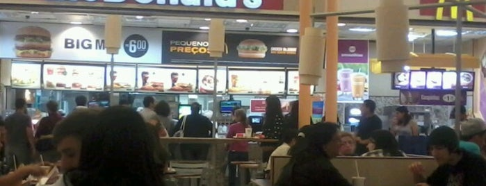 McDonald's is one of Fast Food's.