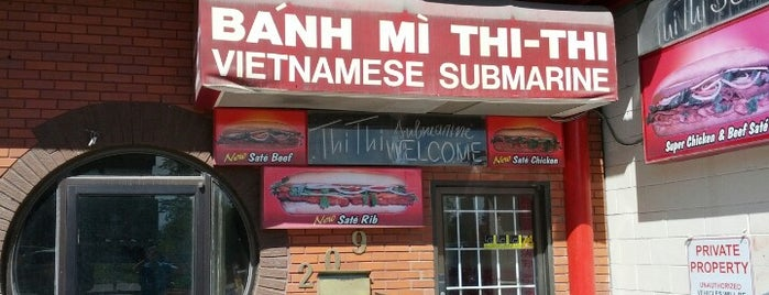 Thi Thi Vietnamese Submarine is one of Calgary.