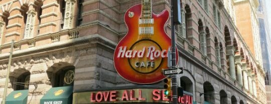 Hard Rock Cafe Philadelphia is one of Lugares favoritos de Sir Chandler.