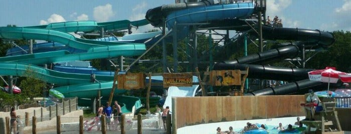 Schlitterbahn Kansas City is one of West Coast Sites.