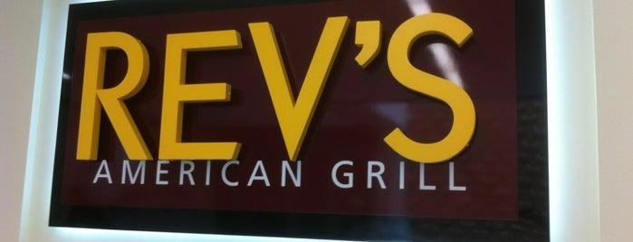 Rev's American Grill is one of What to see in the new MSC.