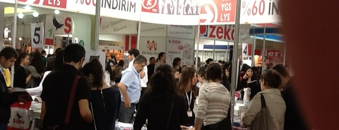 17. İzmir Kitap Fuarı is one of Gespeicherte Orte von Can.