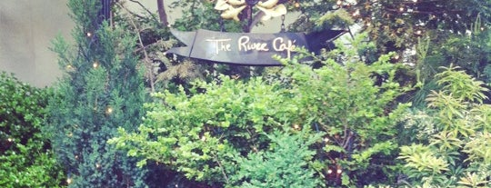 The River Café is one of New York City.