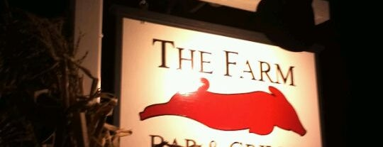 The Farm Bar and Grille is one of Lieux sauvegardés par Adam.