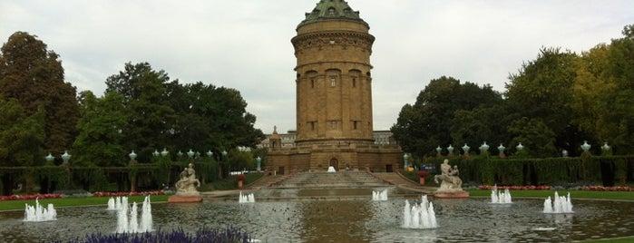 Kapuzinerplanken is one of Mannheim.