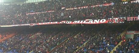"Stadio San Siro ""Giuseppe Meazza"" is one of Milano."