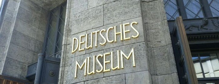 Deutsches Museum is one of MUNICH SEE&DO&EAT.