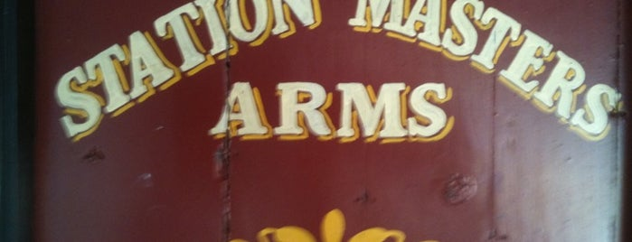 Station Masters Arms is one of My Favorite Beer Bars.