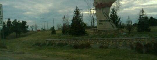 Wisconsin / Minnesota State Line is one of Around MN.