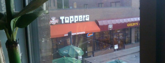 Toppers Pizza is one of Places I've Eaten.