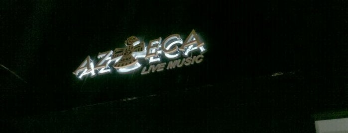 Azteca Live Music is one of Bares e boates de Goiânia.