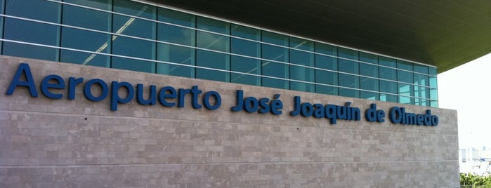 Aeropuerto Internacional José Joaquín de Olmedo (GYE) is one of Airports in US, Canada, Mexico and South America.