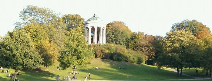 Englischer Garten is one of I Love Munich!.
