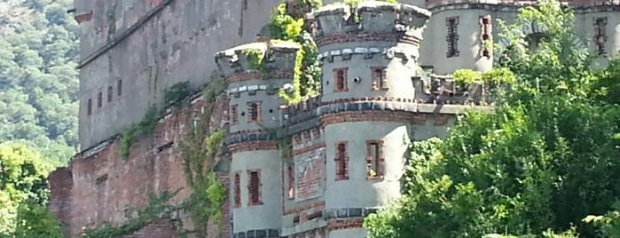 Bannerman Island (Pollepel Island) is one of Upstate Downtown.