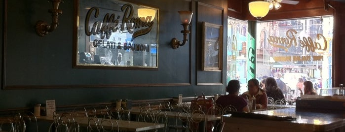 Caffé Roma is one of NY Region Old-Timey Bars, Cafes, and Restaurants.