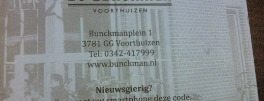 De Bunckman Voorthuizen is one of Vriendenkring Hertog Jan-café 2012.
