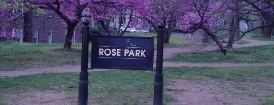 Rose Park is one of Washington D.C..