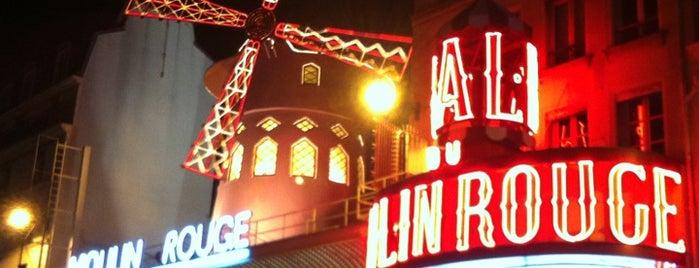 Moulin Rouge is one of Quatre jours à Paris.
