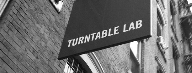 Turntable Lab is one of The Ultimate Guide to Shopping in NYC.