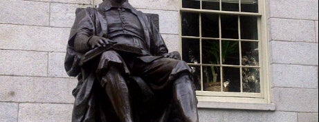 John Harvard Statue is one of Beantown.