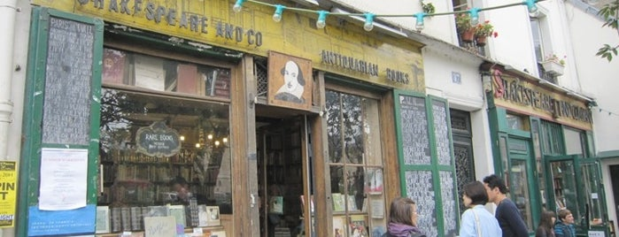 Shakespeare & Company is one of  Paris Sightseeing .